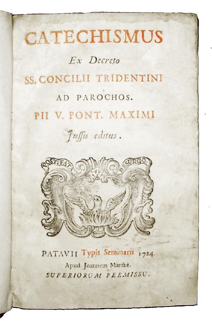 [Catholic Church, Catechism] Catechismus, 1724 - 2