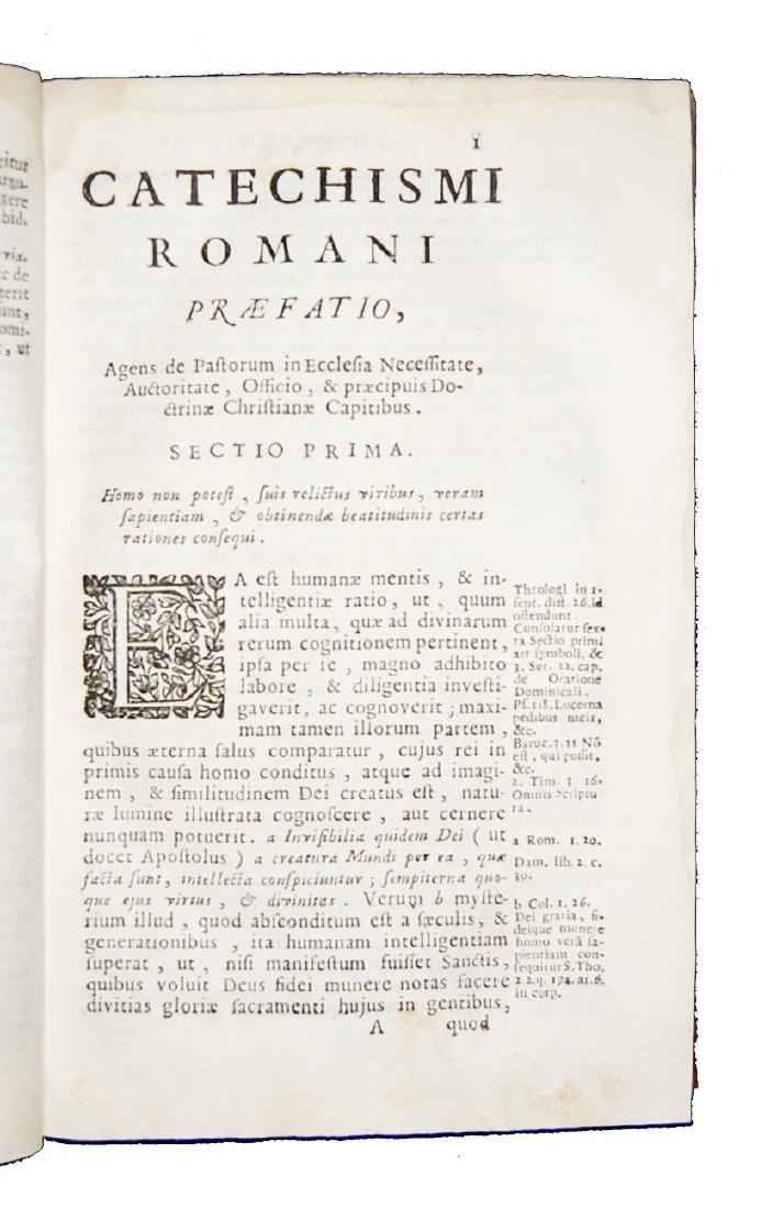 [Catholic Church, Catechism] Catechismus, 1724 - 3