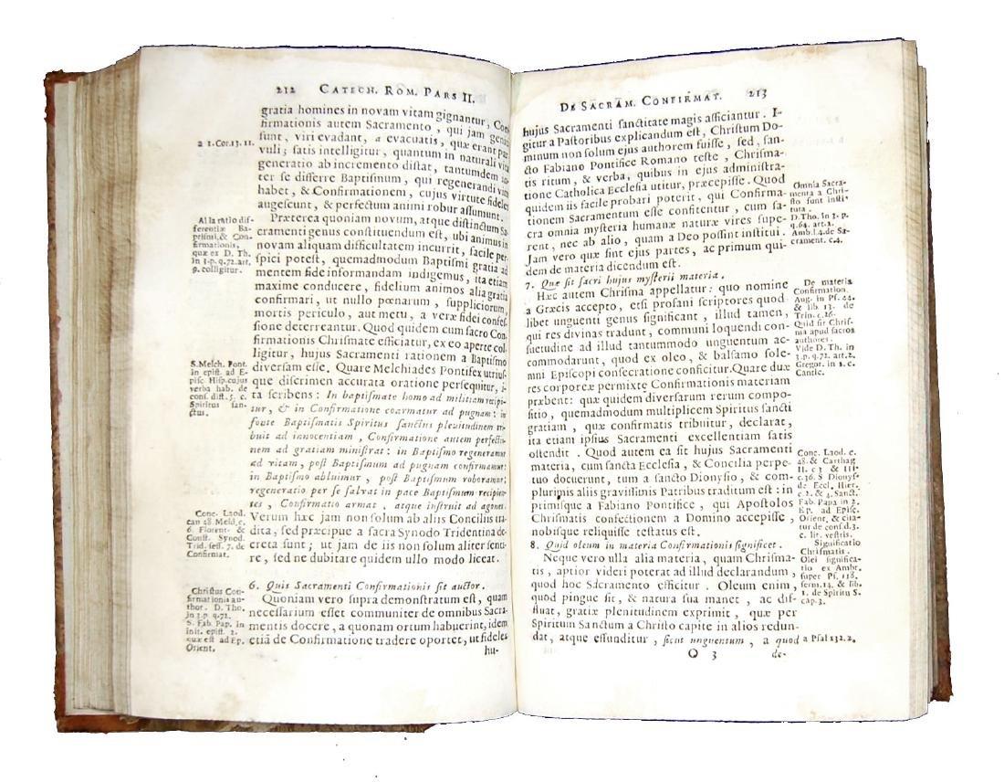 [Catholic Church, Catechism] Catechismus, 1724 - 4