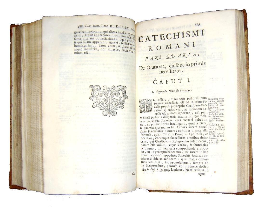 [Catholic Church, Catechism] Catechismus, 1724 - 5