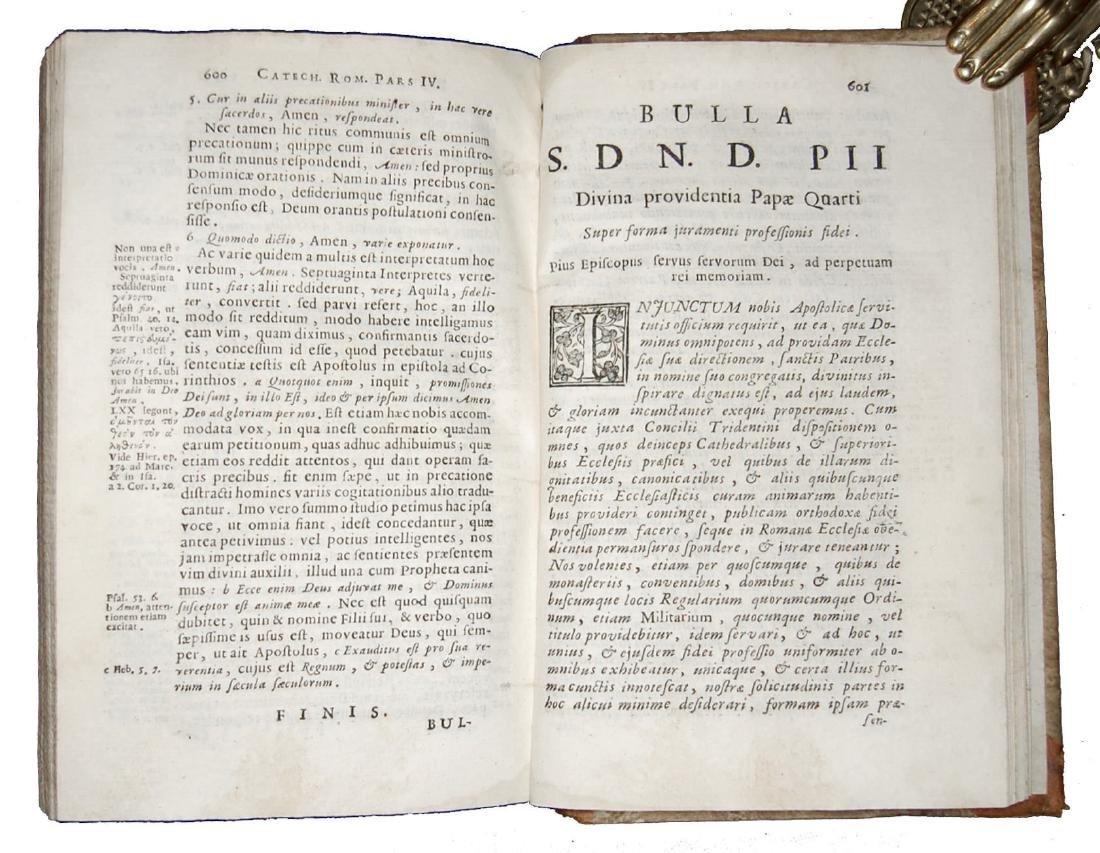 [Catholic Church, Catechism] Catechismus, 1724 - 6