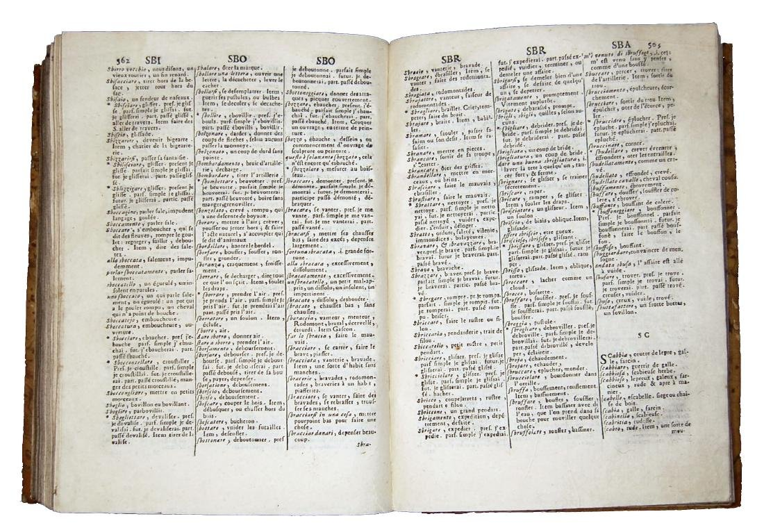 [Dictionaries] Veneroni, Dittionario francese-italiano - 4