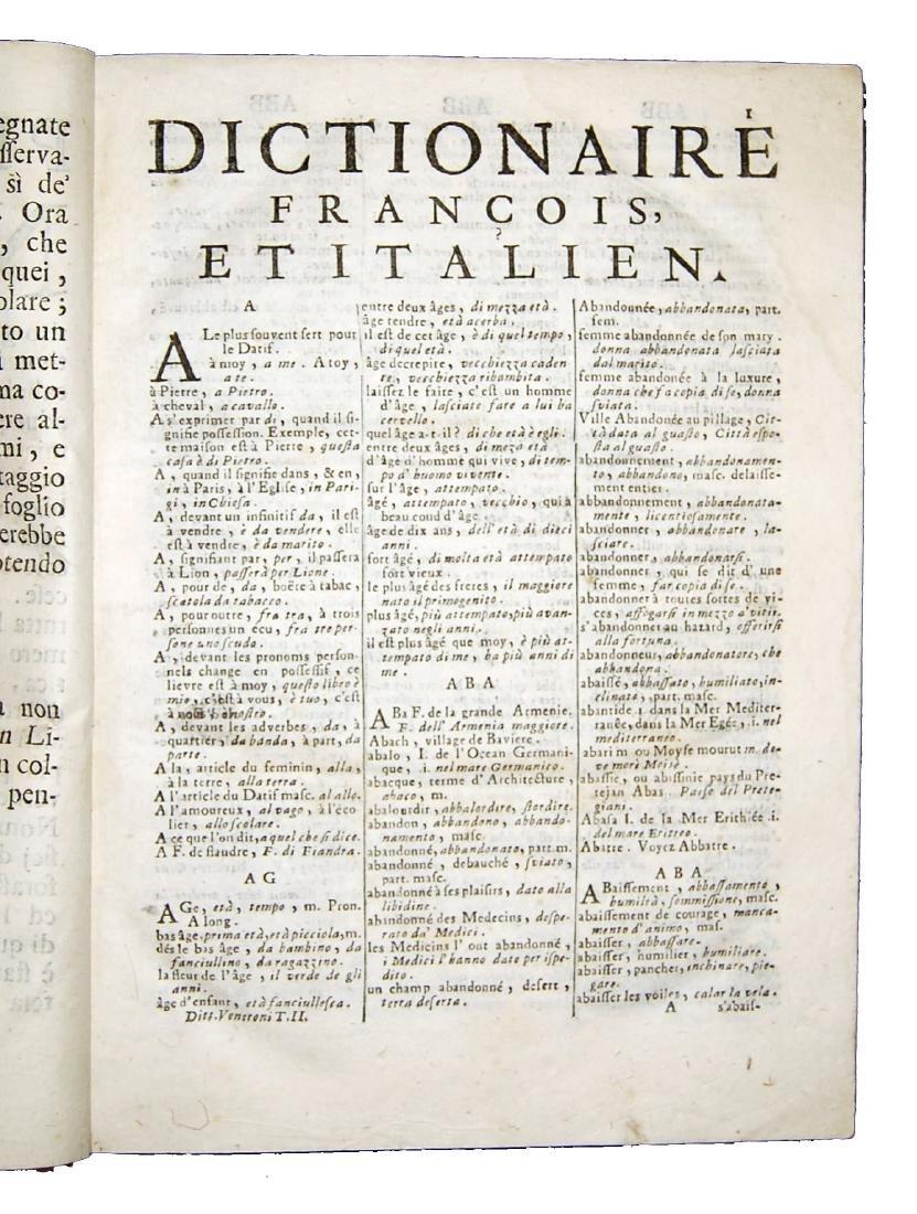 [Dictionaries] Veneroni, Dittionario francese-italiano - 6