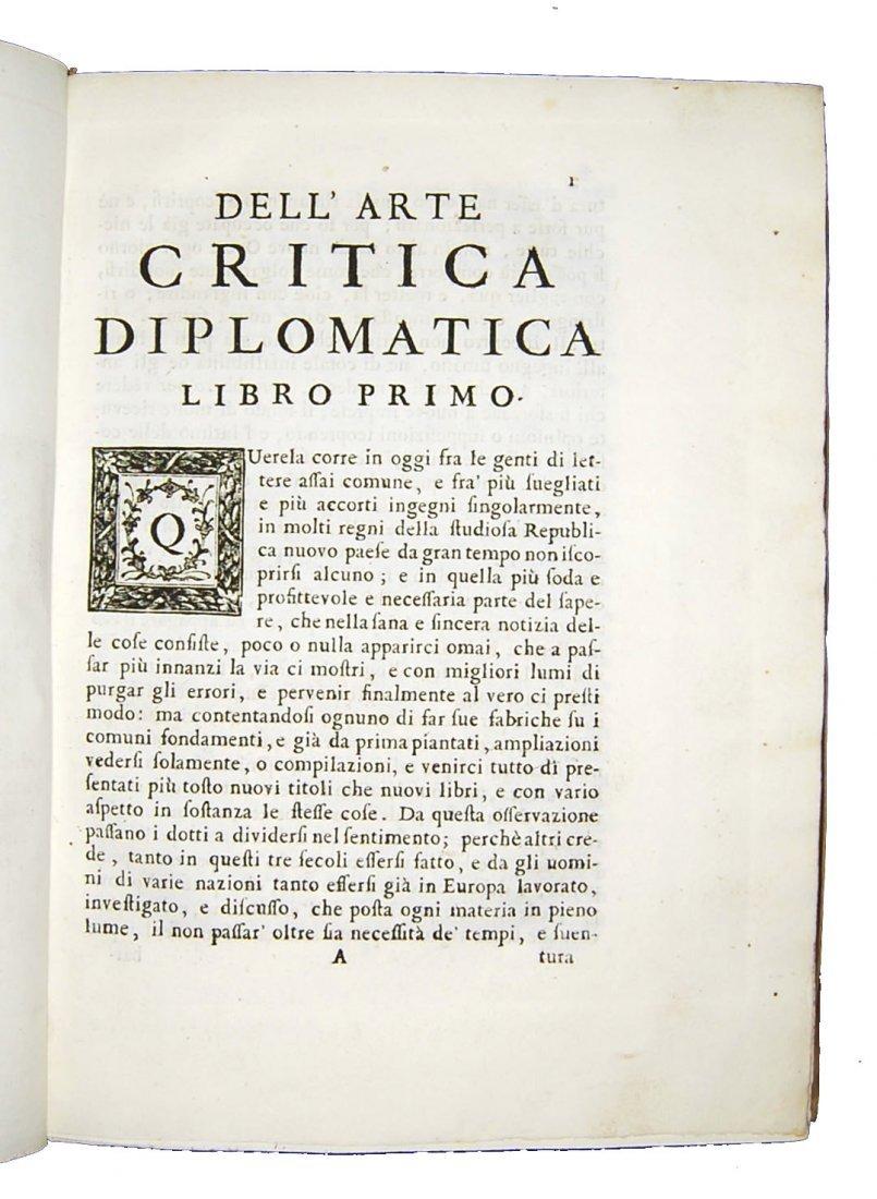[Paleography] Maffei, Istoria diplomatica, 1727 - 4