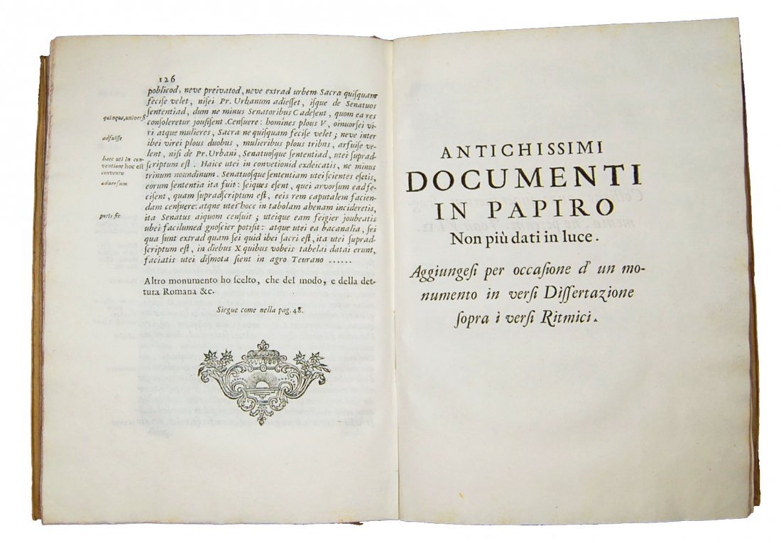 [Paleography] Maffei, Istoria diplomatica, 1727 - 9