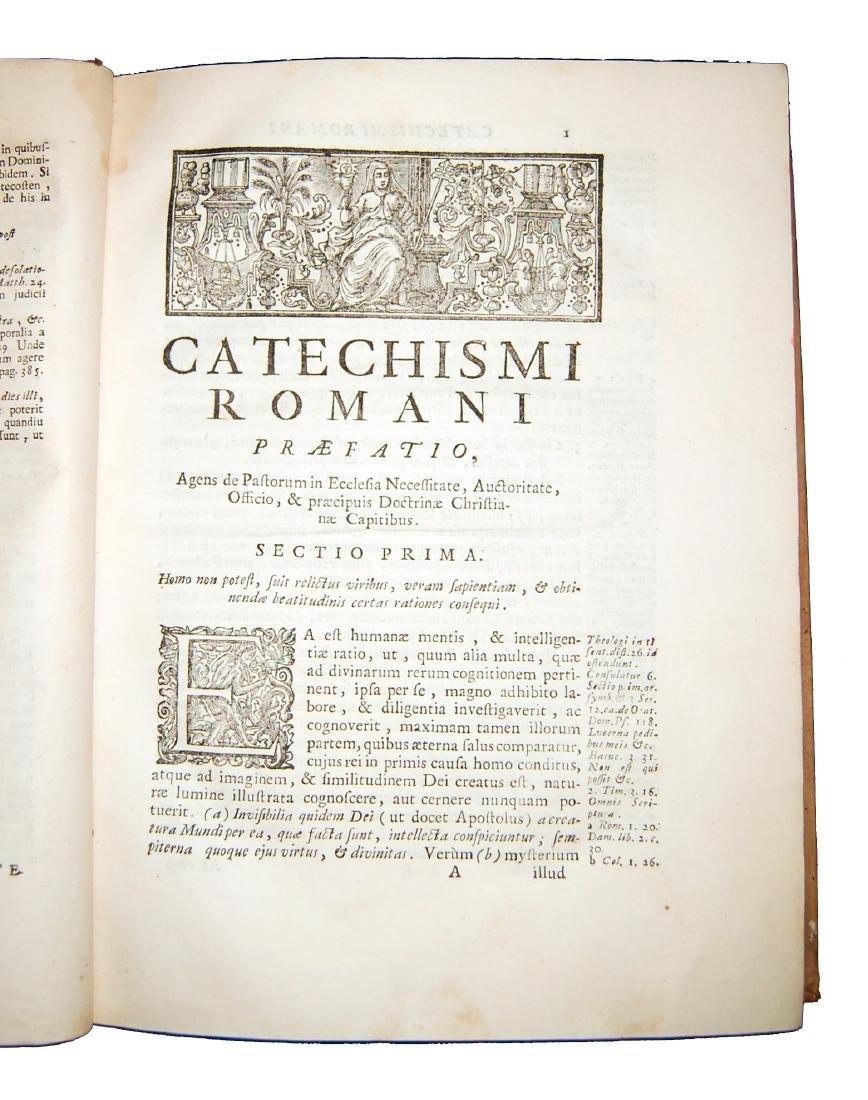 [Catholic Church, Catechism] Catechismus, 1727 - 4