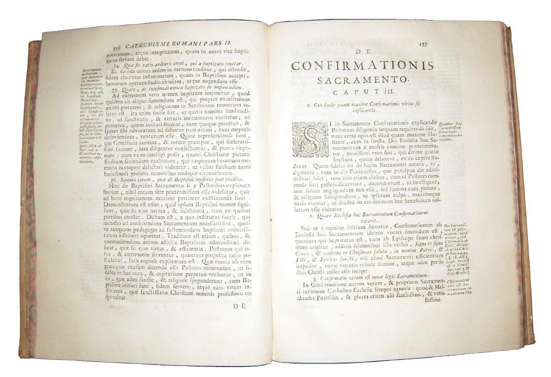 [Catholic Church, Catechism] Catechismus, 1727 - 5
