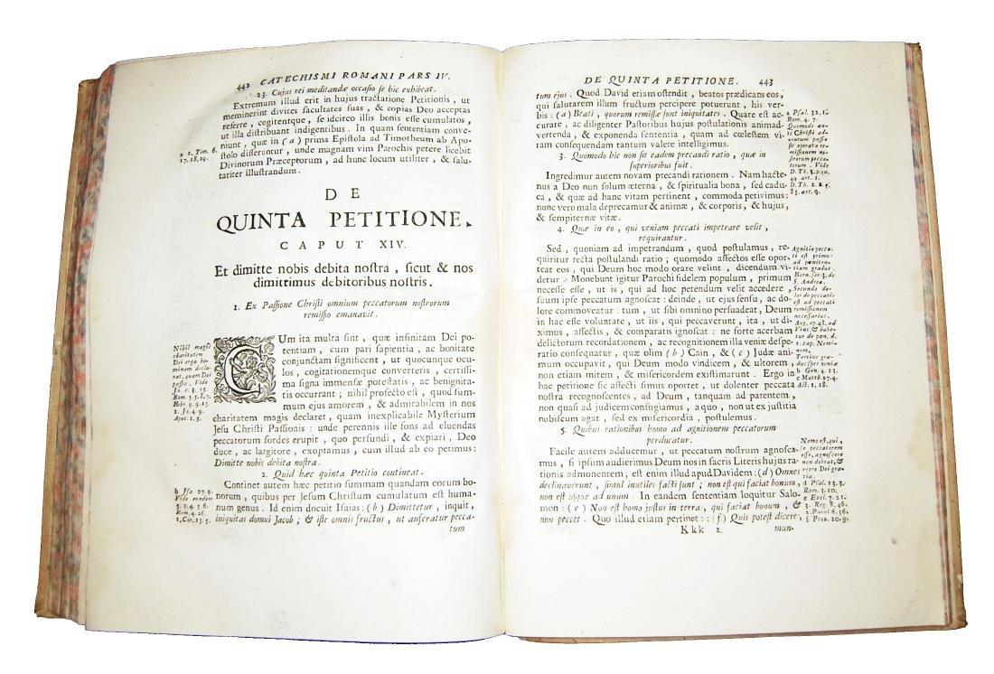 [Catholic Church, Catechism] Catechismus, 1727 - 6