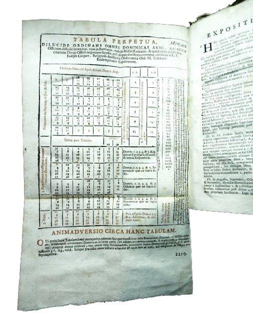 [Liturgy, Music] Bauldry, Manuale, 1734 - 5
