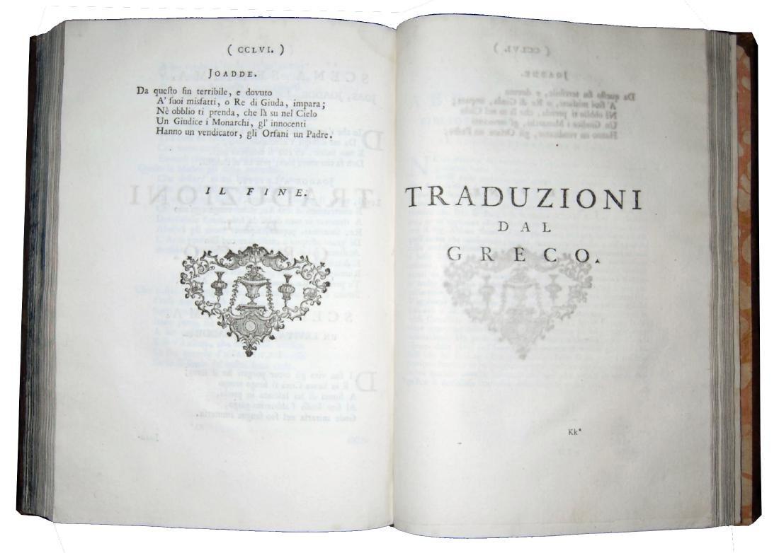[Poetry] Conti, Prose e poesie, 1739-56, 2 vols - 4