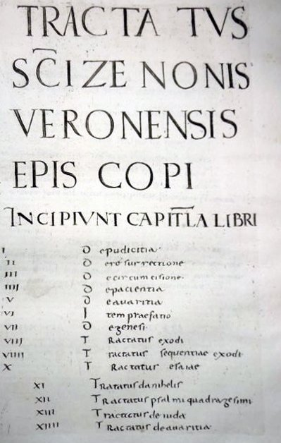 [Sermons, St. Zeno] Sermones, 1739 - 4