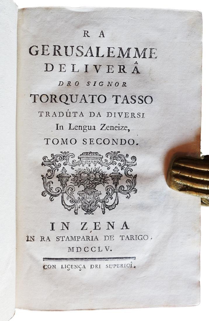 [Dialectal Poetry] Tasso, Gerusalemme deliverà, 1755