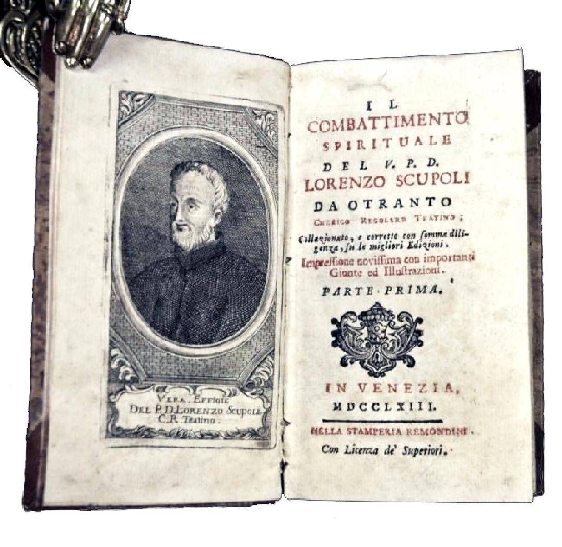 [Spirituality] Scupoli, Combattimento, 1763