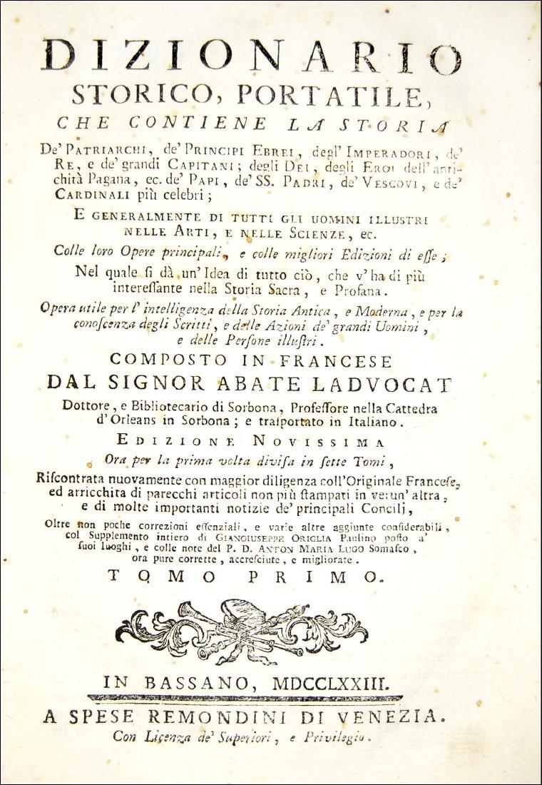 [Biographies] Ladvocat, Dizionario storico portatile