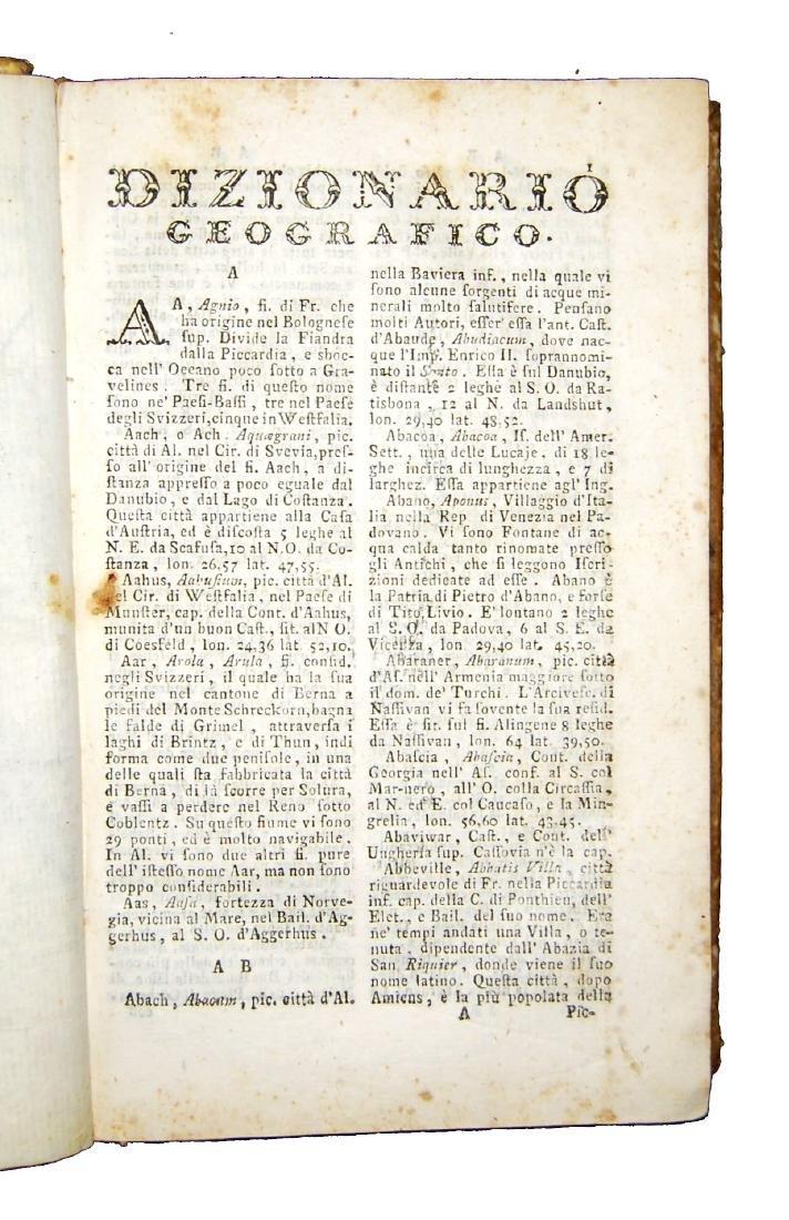 [Geography] Echard, Dizionario geografico portatile - 4