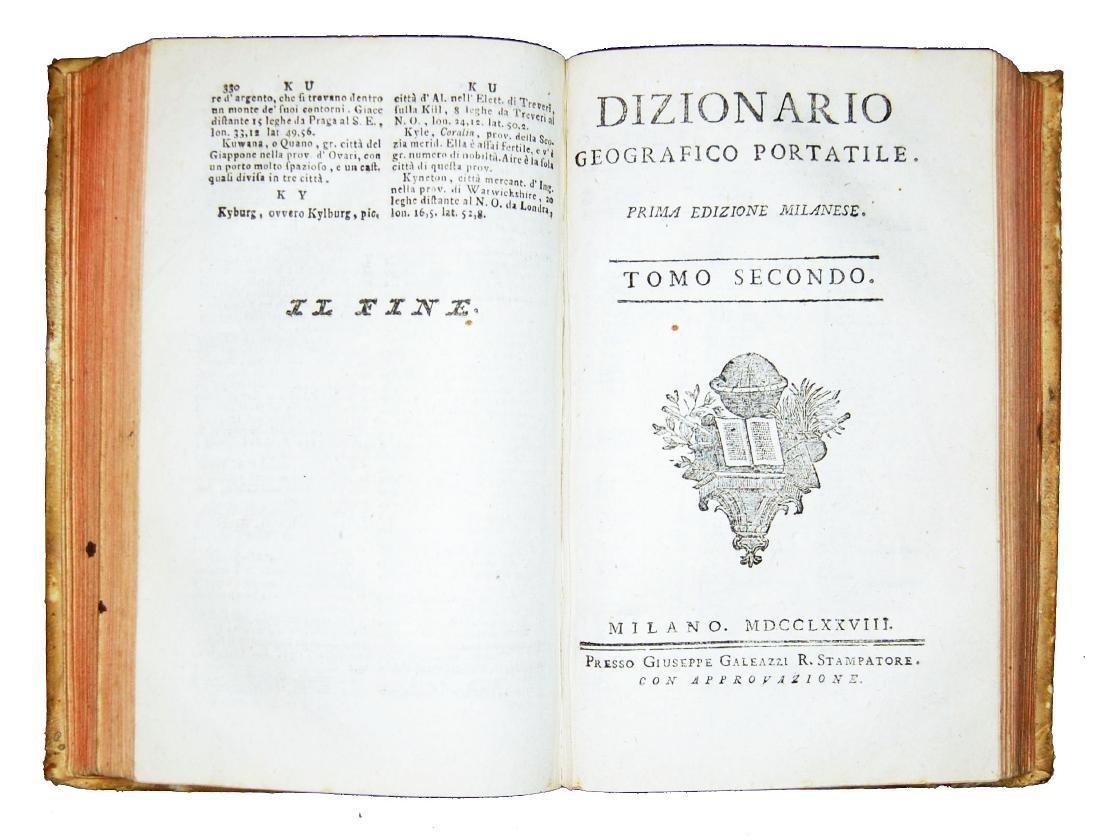 [Geography] Echard, Dizionario geografico portatile - 6