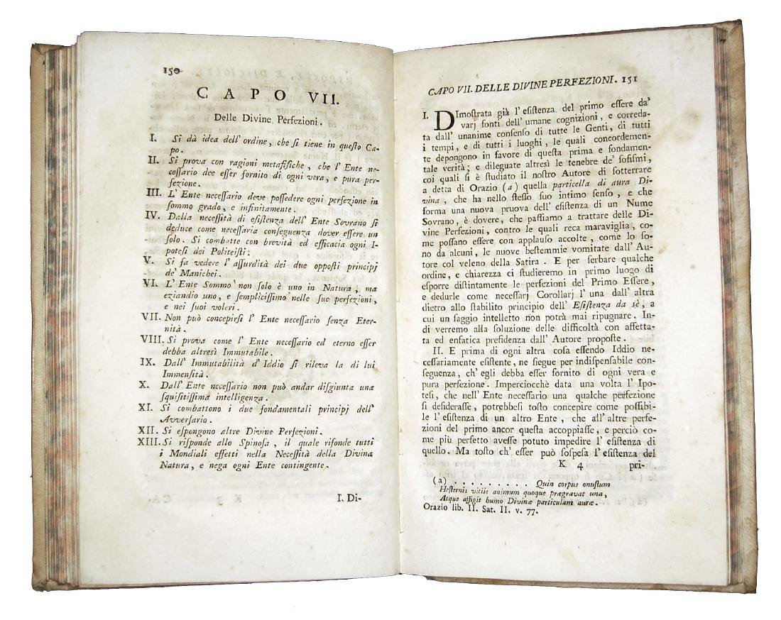 [Theology] Gardini, Verità di Teologia Naturale, 1778 - 5