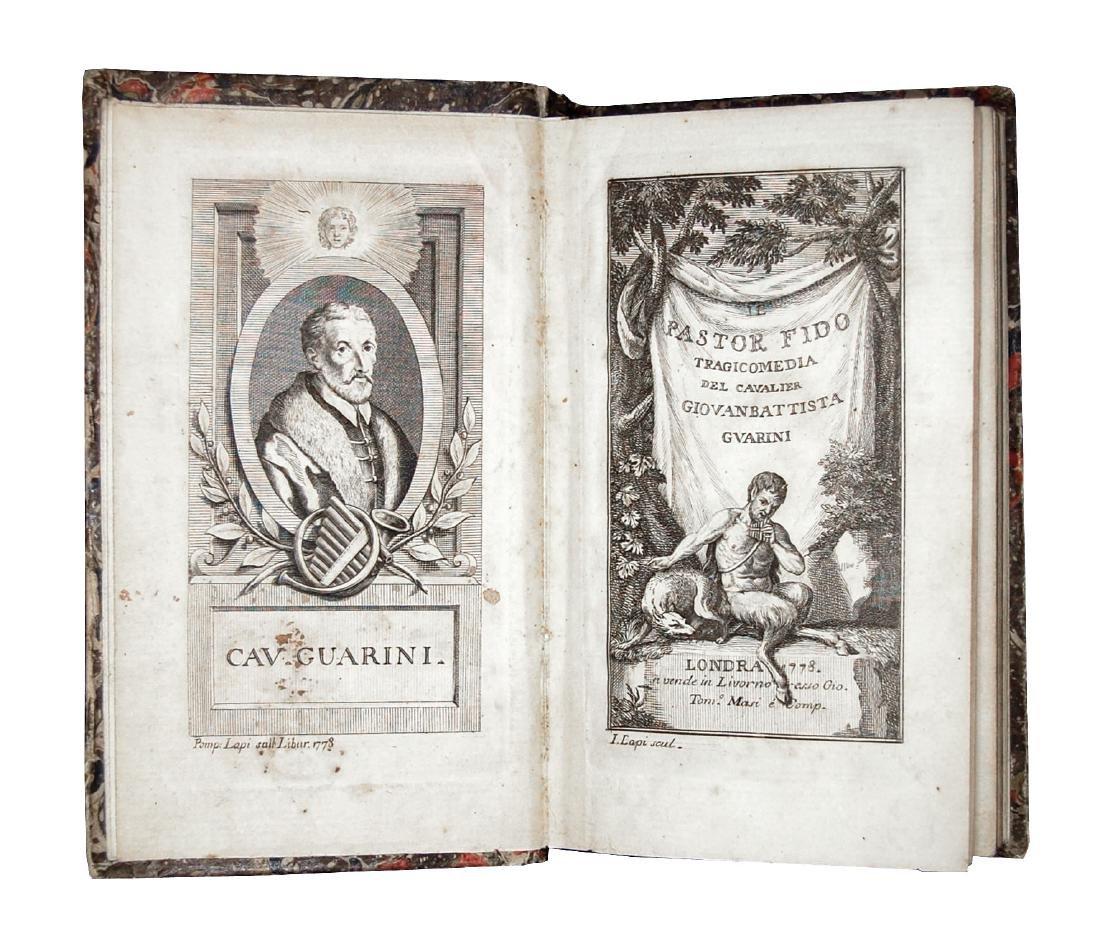 [Comedies] Guarini, Il Pastor fido, 1778