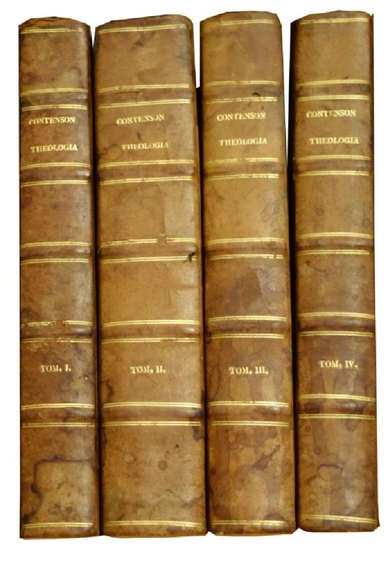 [Theology] Contenson, Theologia mentis, 1790, 4 v.