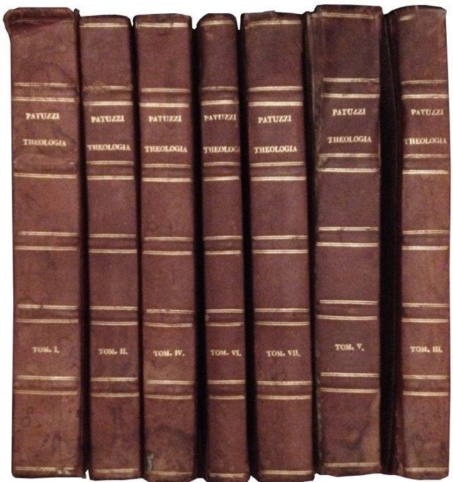 [Theology, Remondini] Patuzzi, 1790, 7 vols