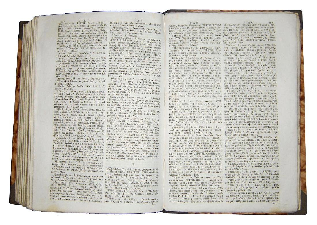 [Poetry, Dictionaries] Regia Parnassi, 1791 - 4