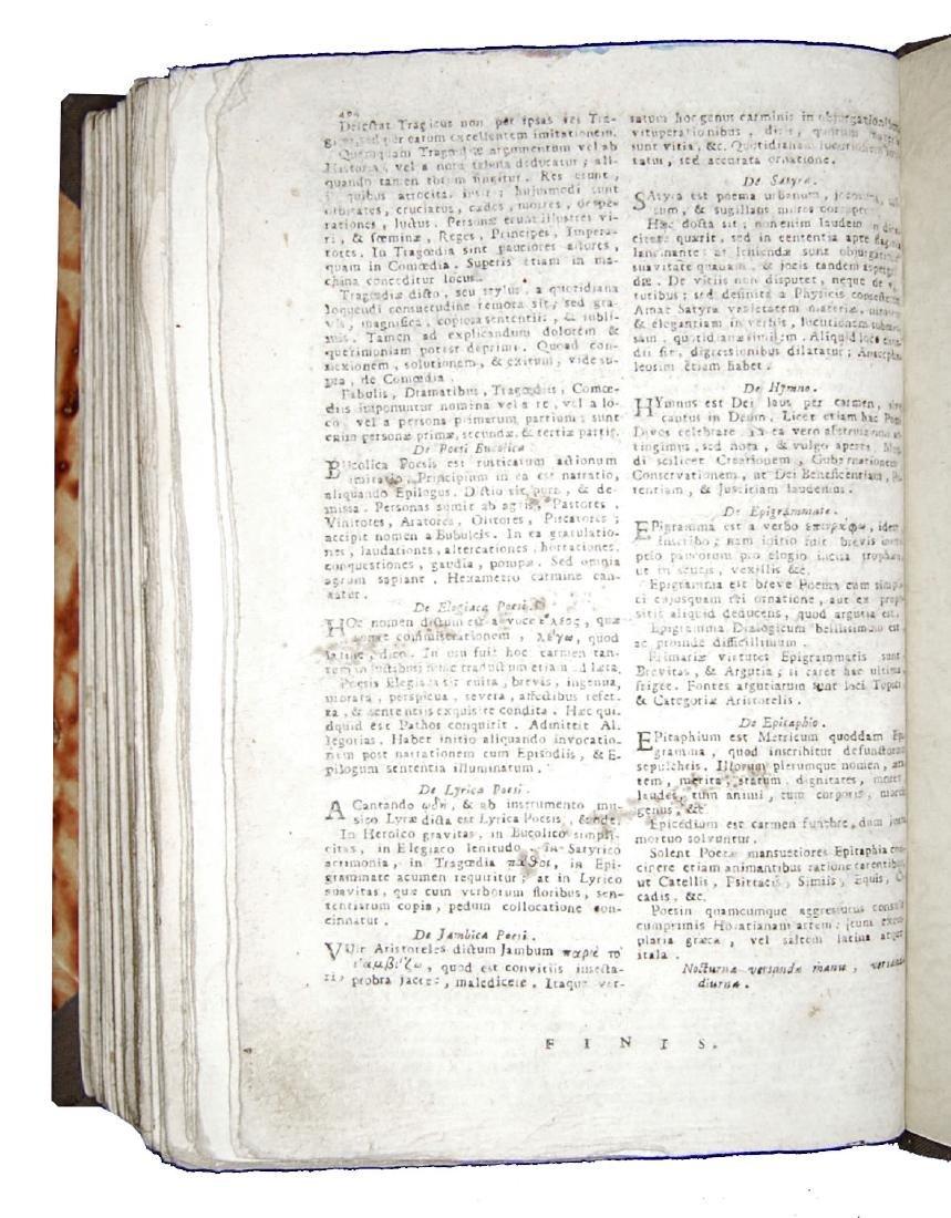 [Poetry, Dictionaries] Regia Parnassi, 1791 - 5