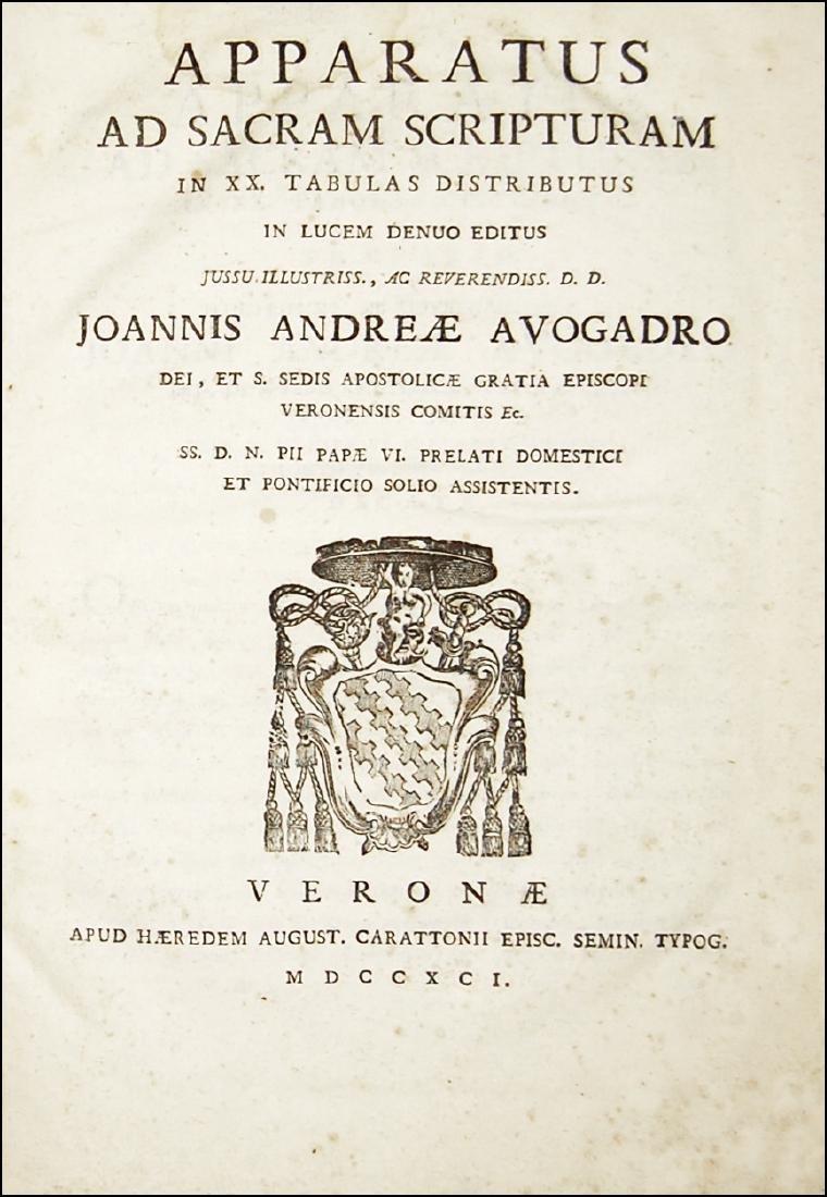 [Bible] Apparatus ad S. Scripturam, 1791