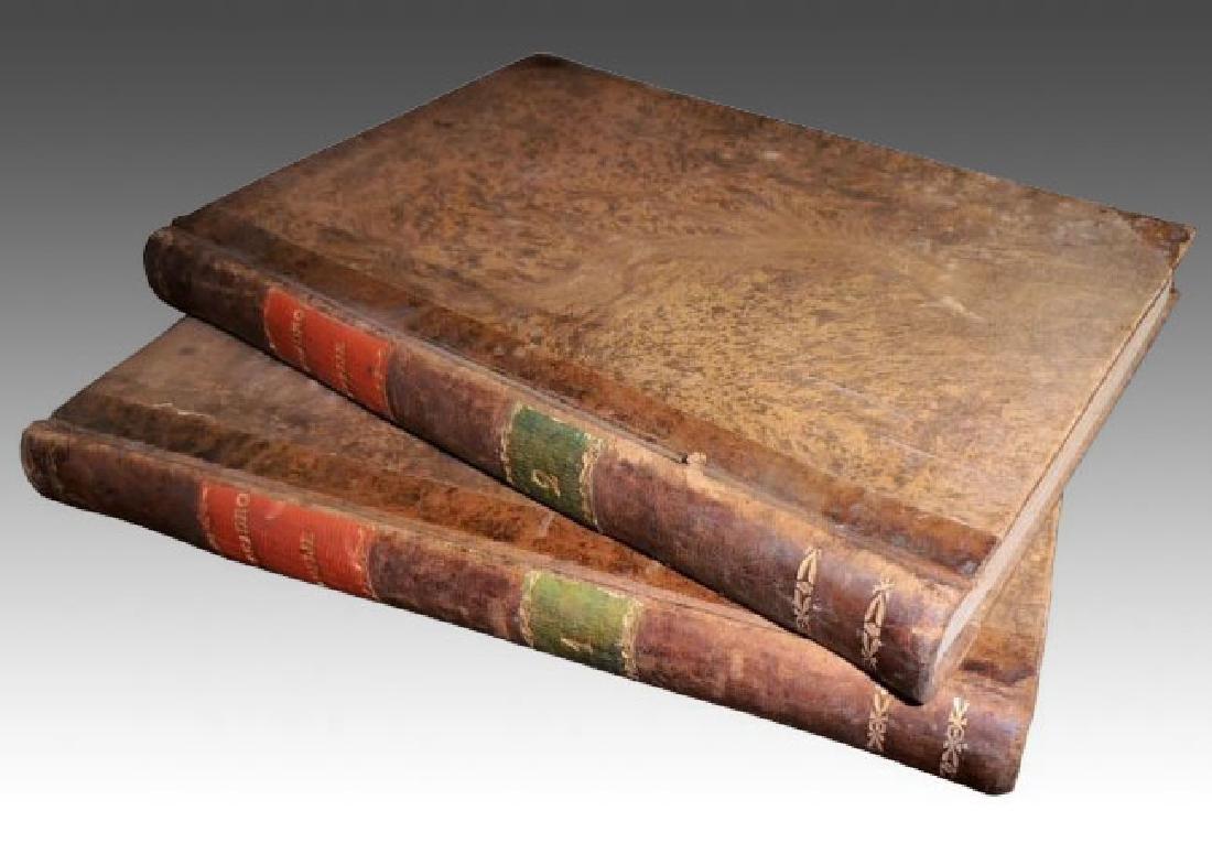 [Jesuits, Homilies & Speeches] Avogadro, 1795, 2 vols