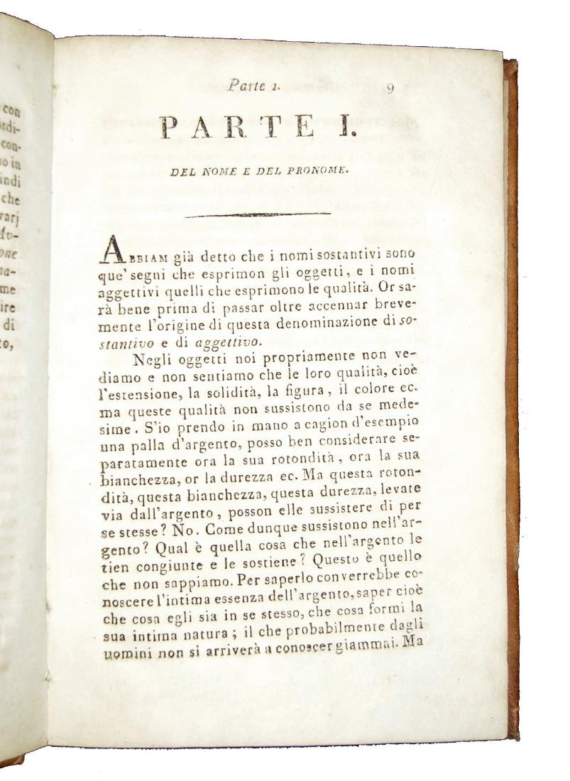 [Grammar] Soave, Grammatica della lingua italiana, 1798 - 3