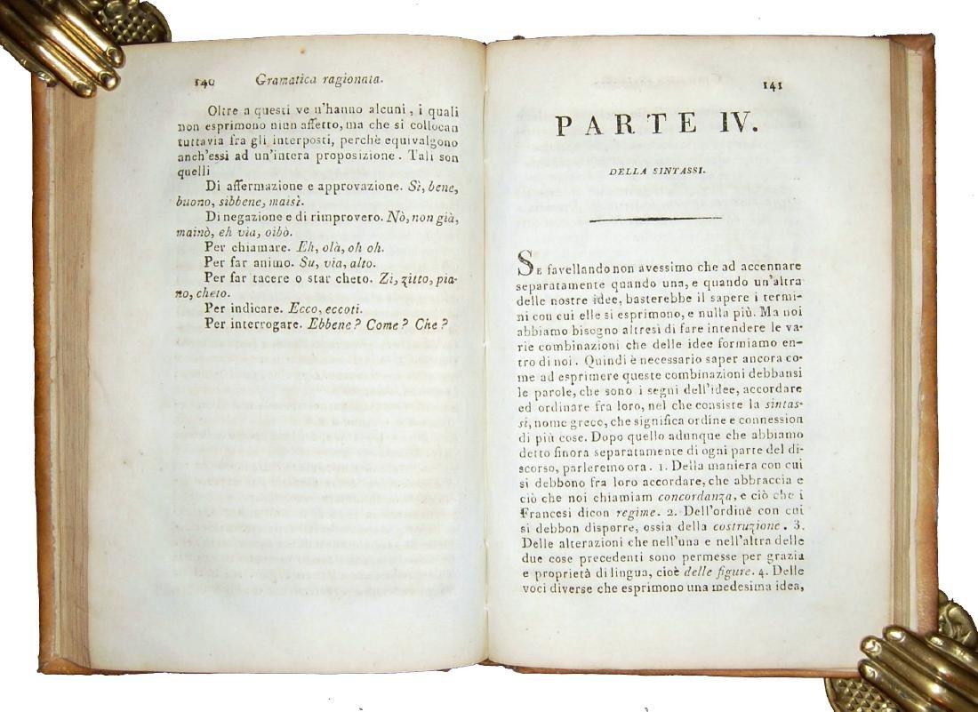 [Grammar] Soave, Grammatica della lingua italiana, 1798 - 4
