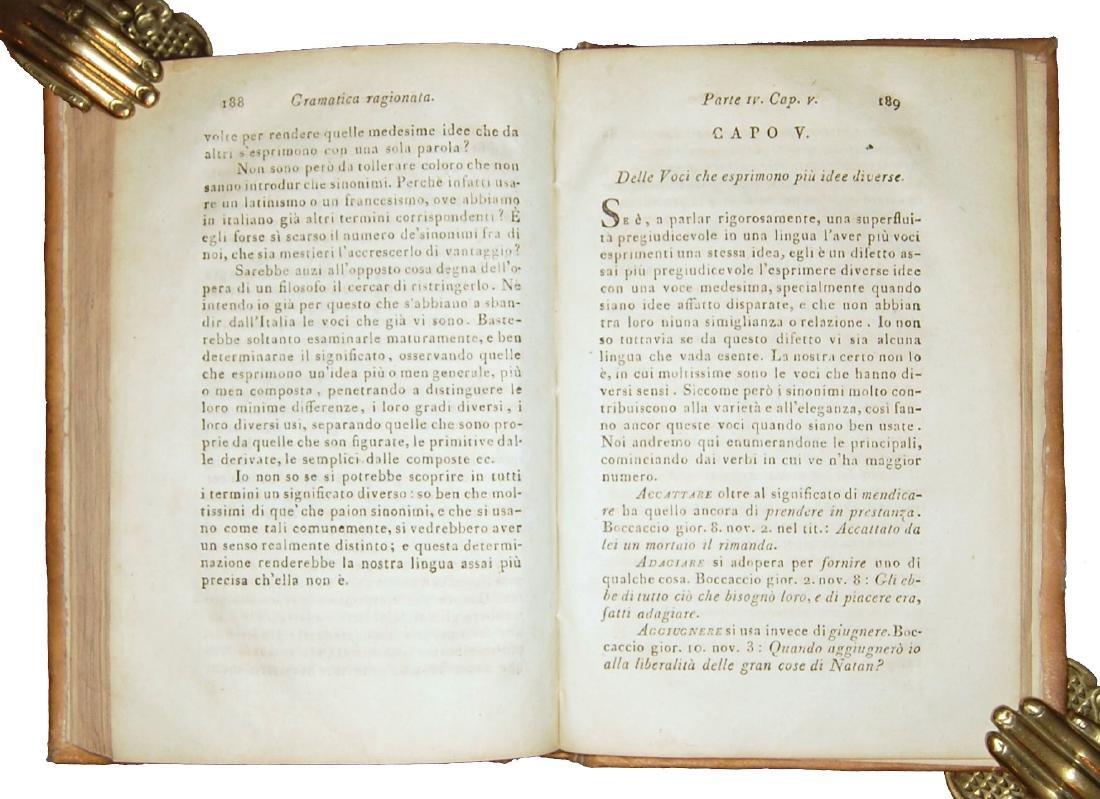 [Grammar] Soave, Grammatica della lingua italiana, 1798 - 5