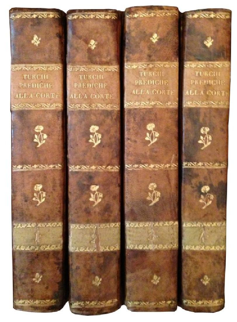 [Religious Texts] Turchi, Opere, 1805, 4 vols