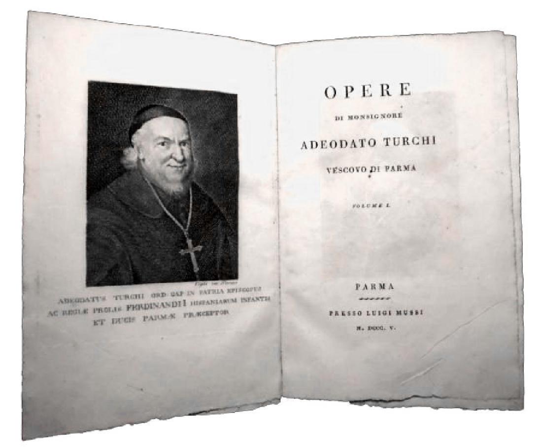 [Religious Texts] Turchi, Opere, 1805, 4 vols - 2