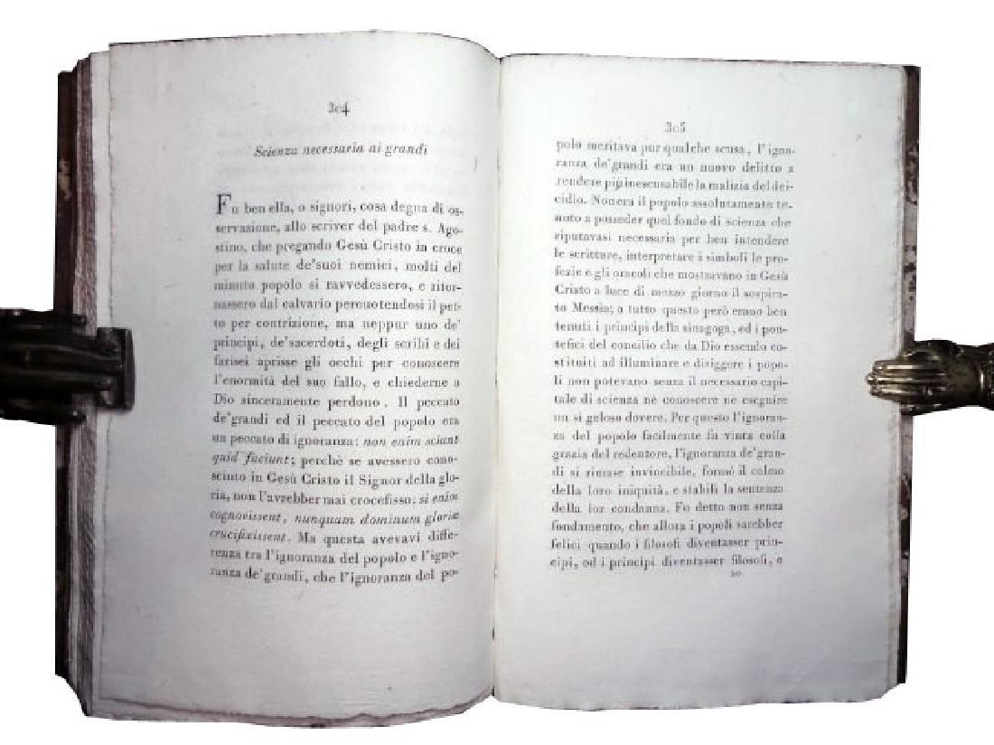 [Religious Texts] Turchi, Opere, 1805, 4 vols - 4