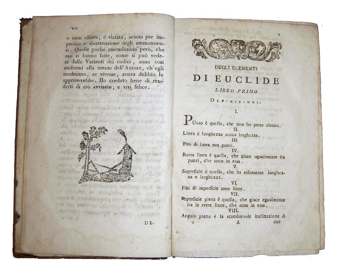 [Geometry] Euclides, Degli elementi di Euclide, 1805 - 2