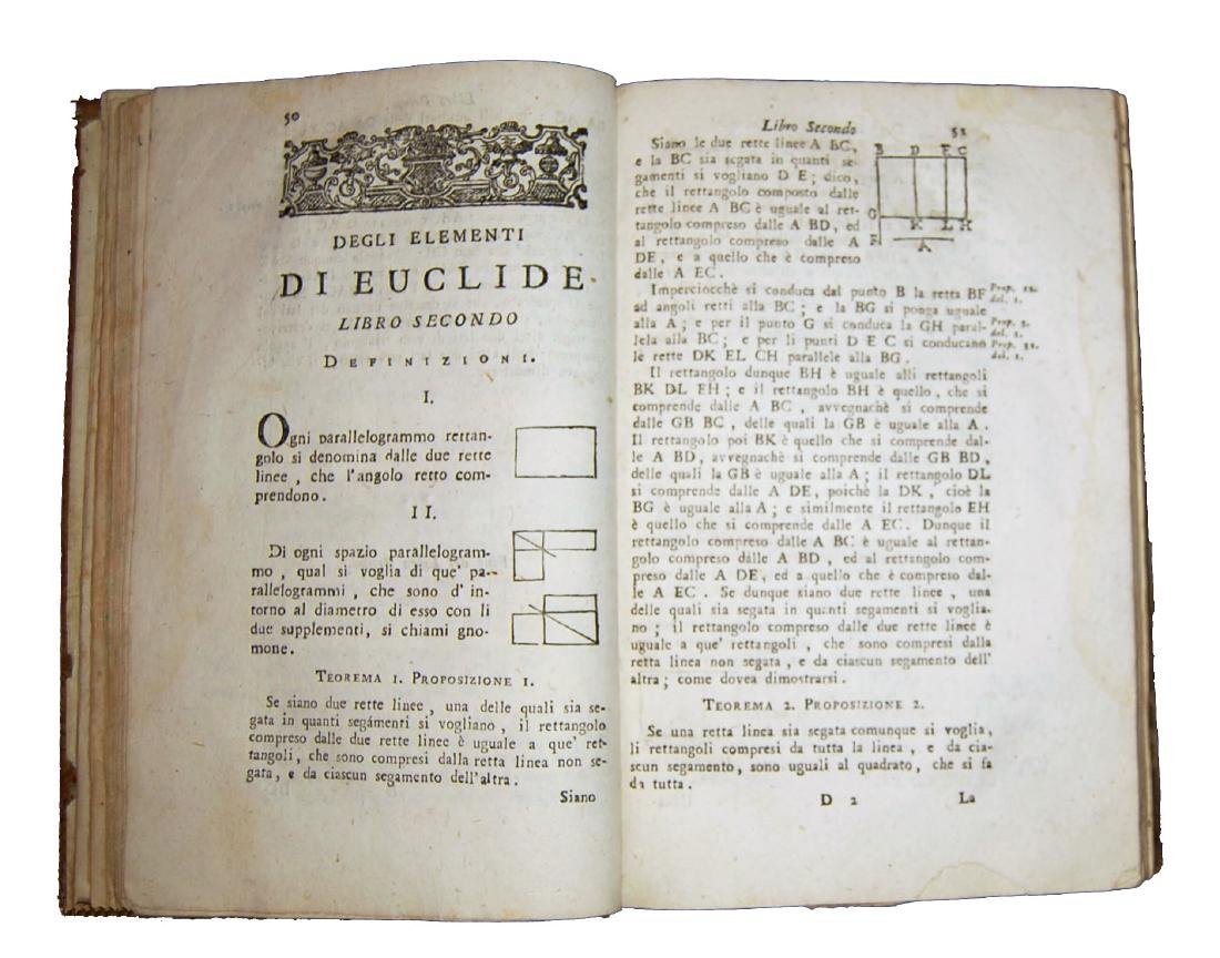 [Geometry] Euclides, Degli elementi di Euclide, 1805 - 3