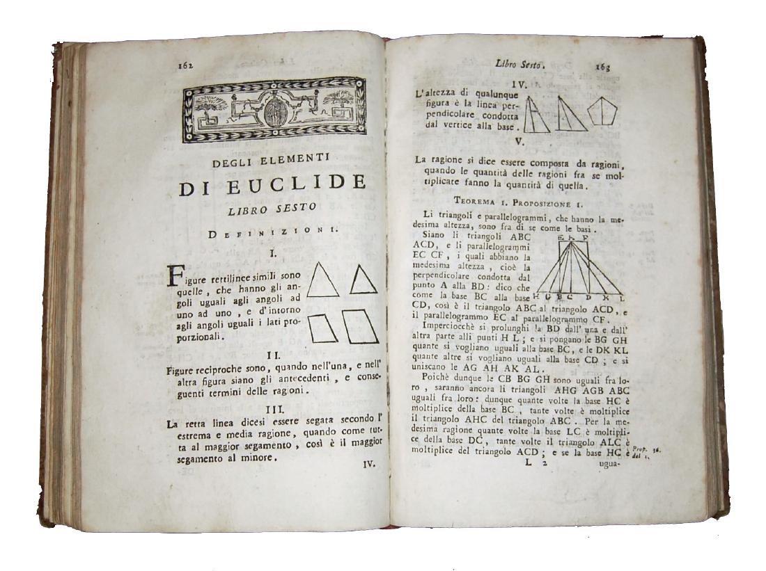 [Geometry] Euclides, Degli elementi di Euclide, 1805 - 4