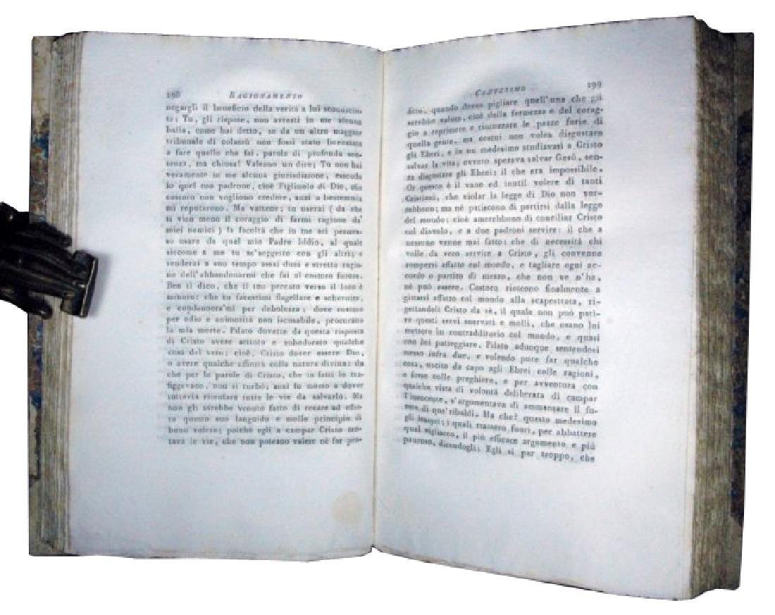 [Jesus' Life] Cesari, Vita di Gesù, 1817, 5 vols - 7