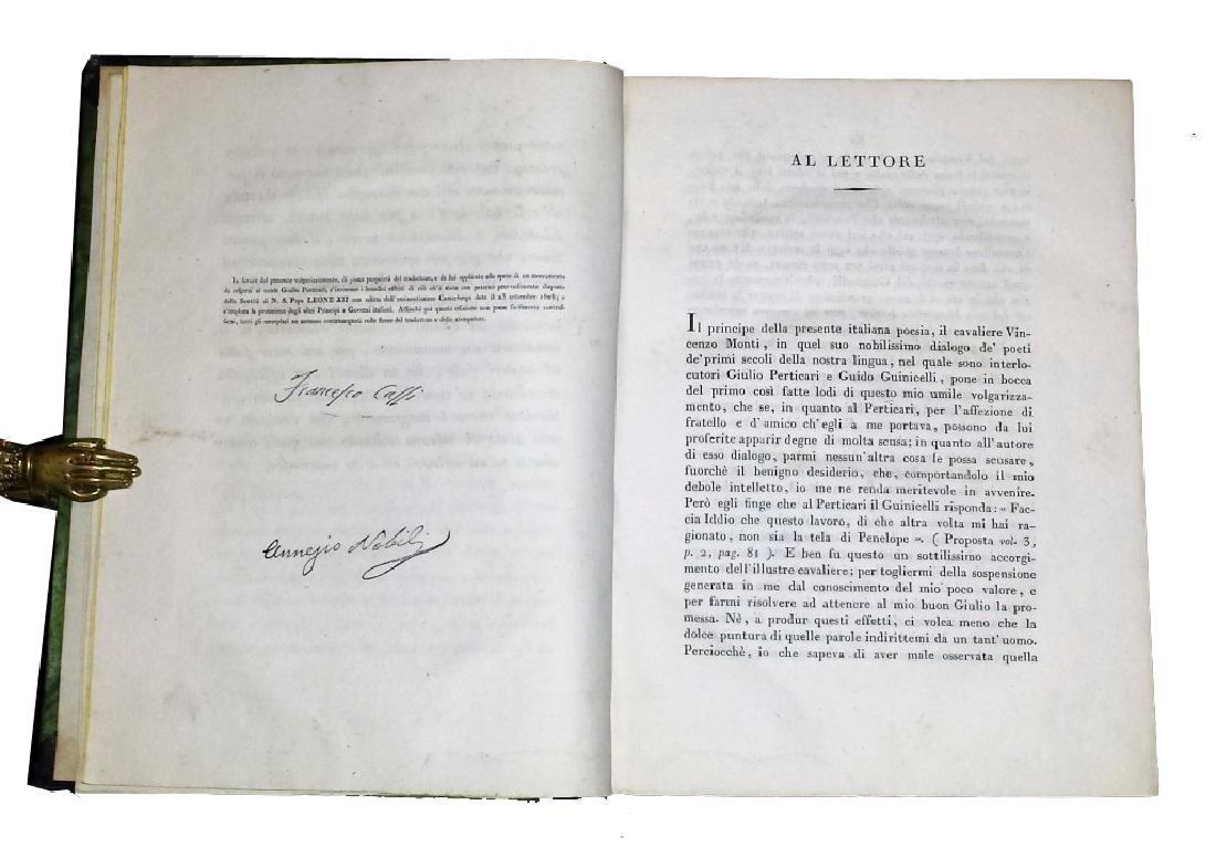 [Roman History, Pesaro imprint] Cassi, Farsaglia, 1826 - 4