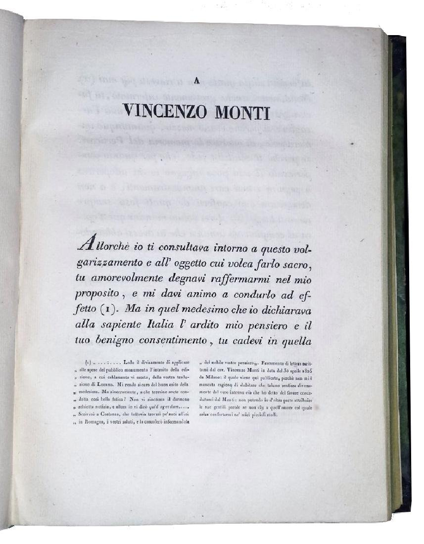 [Roman History, Pesaro imprint] Cassi, Farsaglia, 1826 - 5