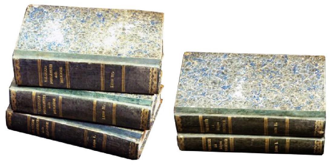 [Catholic Church, Doctrine] Valsecchi, 1834, 5 vols