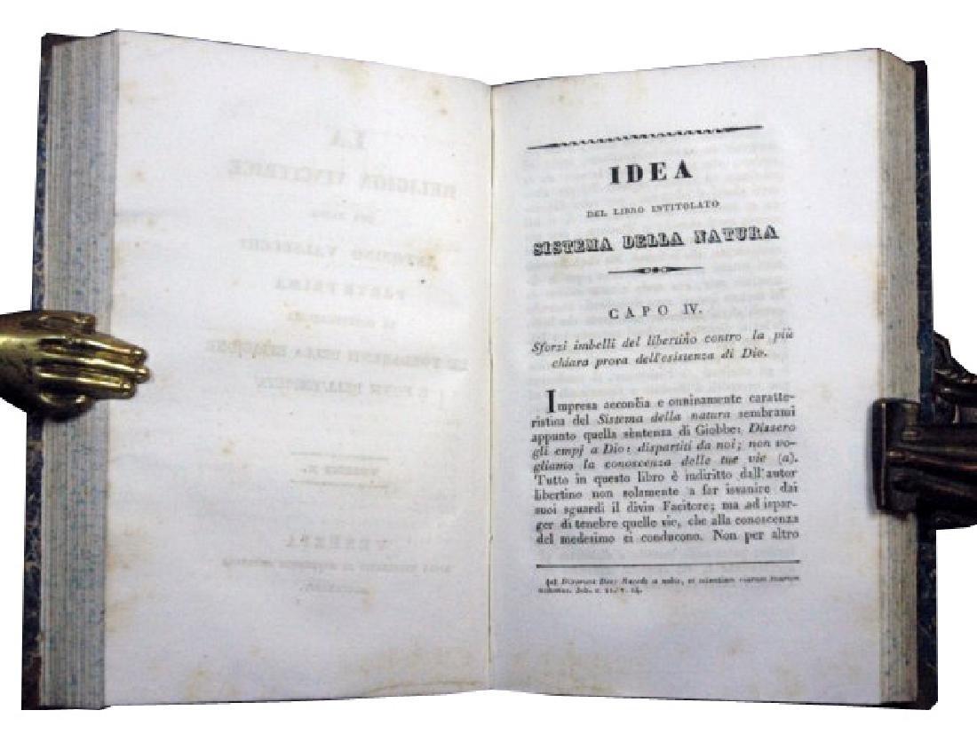 [Catholic Church, Doctrine] Valsecchi, 1834, 5 vols - 5
