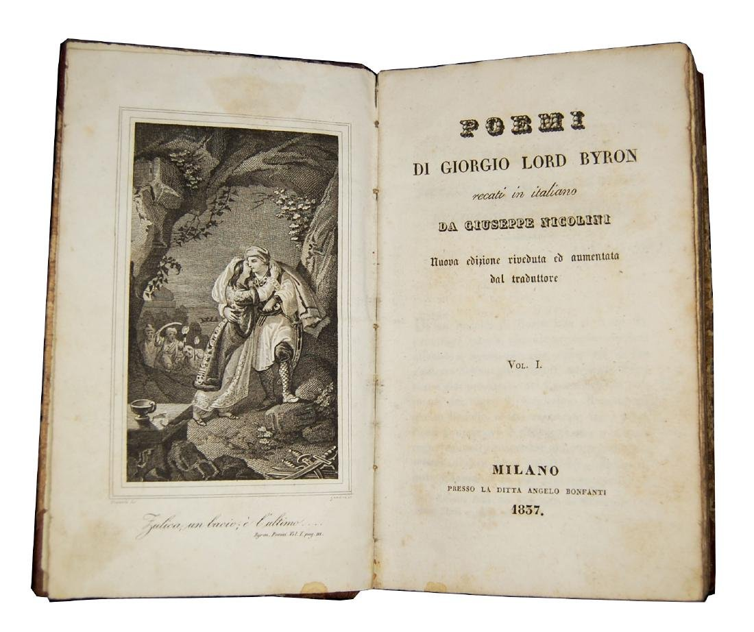 [Poems] Byron, Poemi, 1837