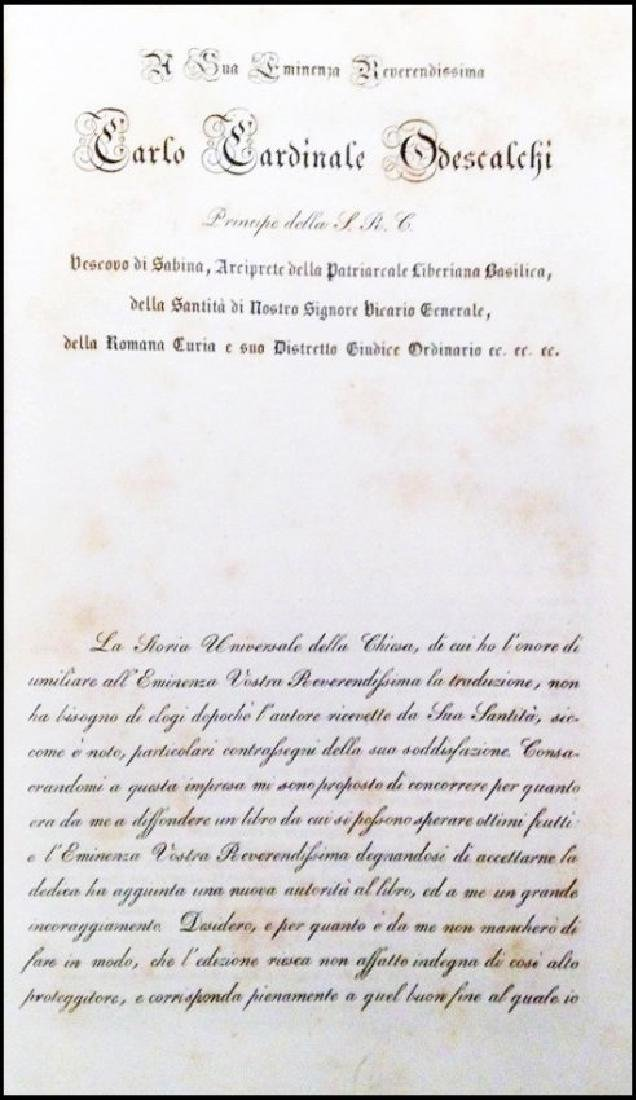 [Church History] Henrion, Storia Universale, 1838 - 2