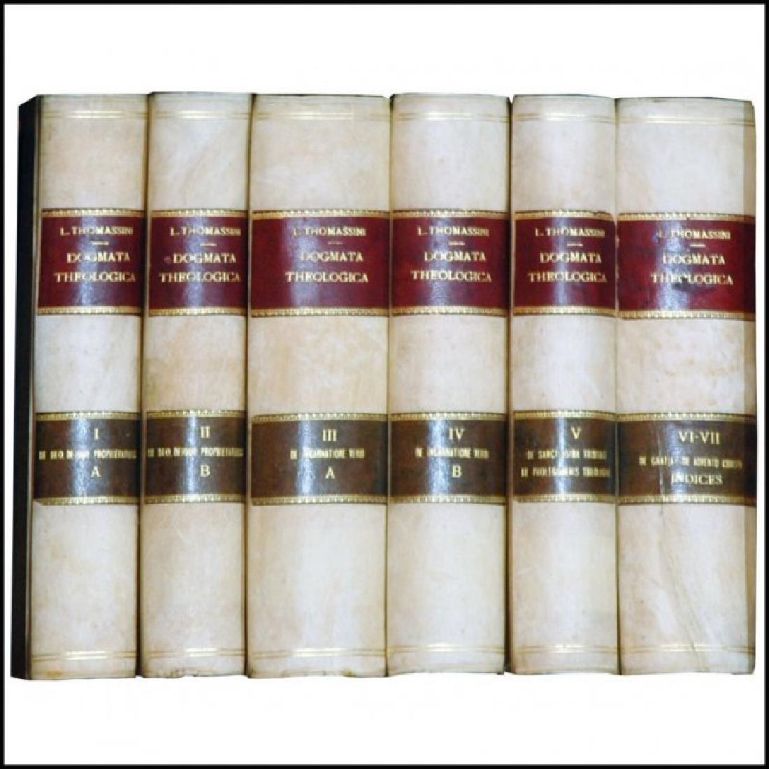 [Theology, Ethics] Thomassin, Dogmata, 1864-72, 7 v.