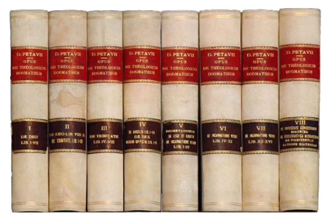 [Jesuits, Theology, Dogma] Petavius, 1866, 8 vols