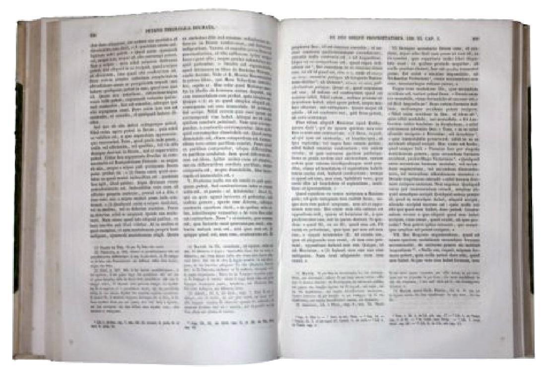 [Jesuits, Theology, Dogma] Petavius, 1866, 8 vols - 3