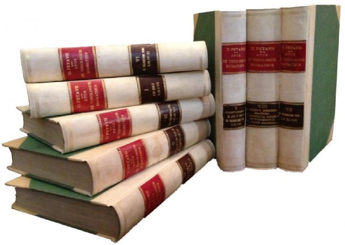 [Jesuits, Theology, Dogma] Petavius, 1866, 8 vols - 4