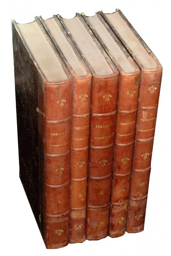 [Jesuits, Wurzburg] Kilber, Theologia, 1879, 5 vols