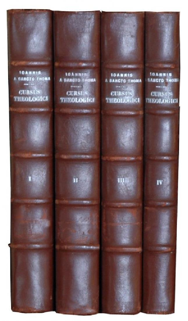 [Theology] Poinsot, Cursus, 1931-1964, 4 vols - 2
